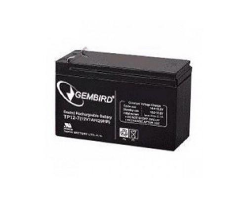 батареи Gembird/Energenie Аккумулятор для Источников Бесперебойного Питания BAT-12V7AH/MS7-12
