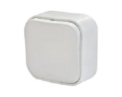 Legrand 782200 Выключатель 10A одноклавишный Quteo (Белый)