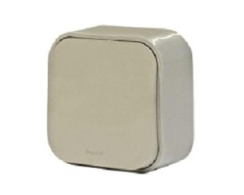 Legrand 782235 Звонок кнопочный 6А Quteo (Слоновая кость)