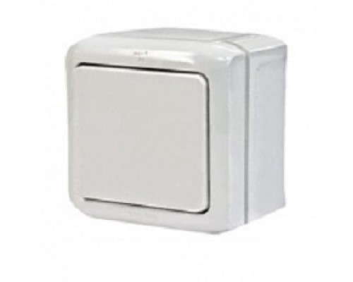 Legrand 782300 Выключатель одноклавишный Quteo IP44 (Белый)