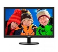 LCD PHILIPS 21.5 223V5LSB (00/01/86) черный TN LED 1920x1080 5ms 170/160 16:9 10M:1 250cd D-Sub DVI
