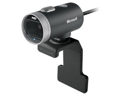 Microsoft LifeCam Cinema for Business USB 2.0, 1280x720, 5Mpix foto, автофокус, Mic, Black/Silver 6CH-00002
