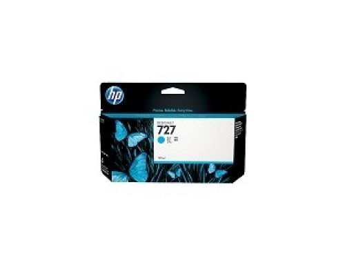 Расходные материалы HP B3P19A Картридж №727, Cyan Designjet T920/T1500,