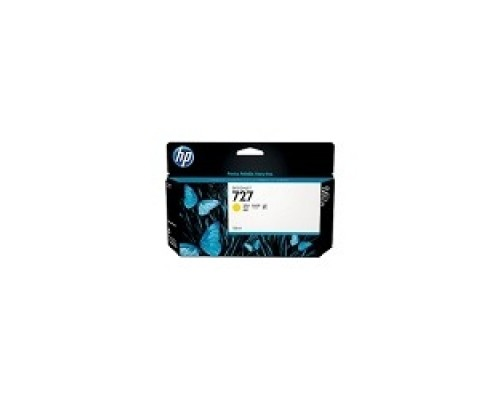 Расходные материалы HP B3P21A Картридж №727, Yellow Designjet T920/T1500,
