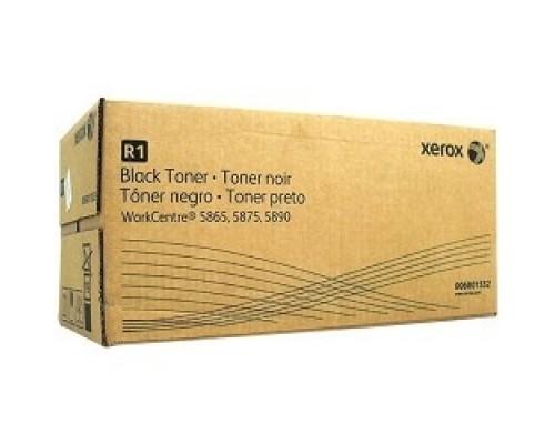 XEROX 006R01552 Тонер-картридж повышенной емкости для WC5845/55/56/75/90 (110 тыс. отпечатков при 5% заполнении), (включает контейнер для отработанного тонера)