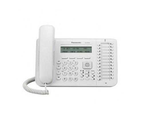 Телефон Panasonic KX-NT543RU White системный IP