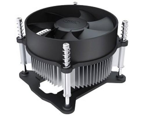 Вентилятор Cooler Deepcool CK-11508 Soc-1150/1155/1156, 3pin, 25dB, Al, 65W, 245g, screw