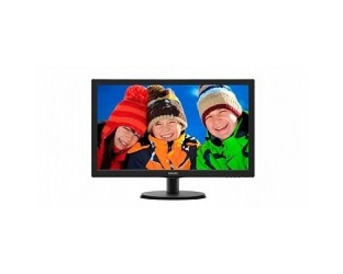 LCD PHILIPS 21.5 223V5LSB2 (10/62) черный TN 1920x1080 76Hz 5ms 90/65 200cd 600:1 10M:1 D-Sub VESA