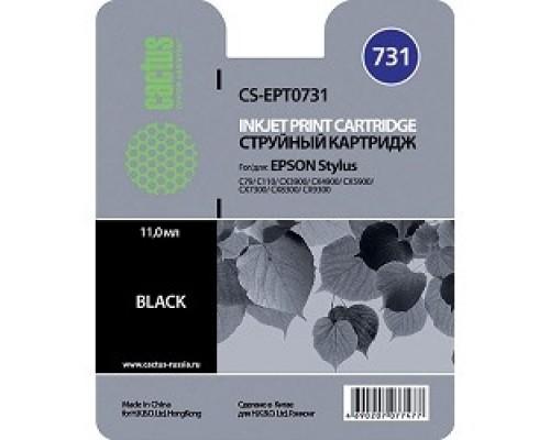 Cactus C13T10514A10/C13T07314A10/CS-EPT0731 Картридж для Epson Stylus С79/ C110/ СХ3900/ CX4900/ CX5900/ CX7300/ CX8300/ CX9300, черный, 11.0 мл