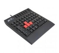 A-4Tech X7-G100 USB, 62 клавиши, USB, влагозащищенная, прорезиненые клавиши управления 511469