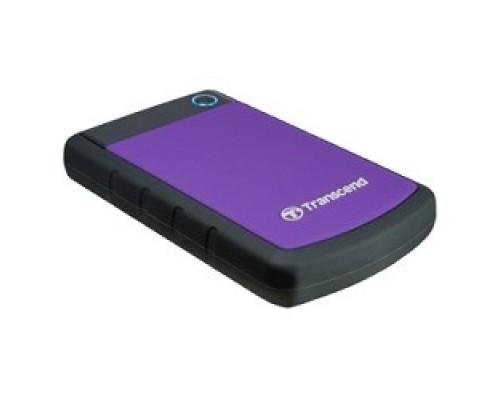 Носитель информации Transcend Portable HDD 2Tb StoreJet TS2TSJ25H3P USB 3.0, violet