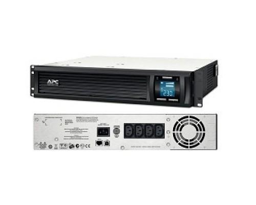 APC Smart-UPS C 1000VA SMC1000I-2U Line-Interactive, 2U RackMount, LCD, REP.SC1000I