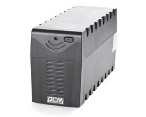 ИБП UPS Powercom RPT-600AP 600 ВА/ 360 Вт, AVR, USB, RJ11/RJ45, розетки IEC320 C13 с резервным питанием