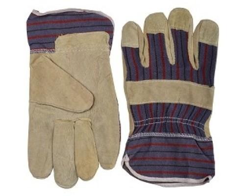 STAYER MASTER рабочие комбинированные кожаные из спилка с тиснением, XL 1131-XL