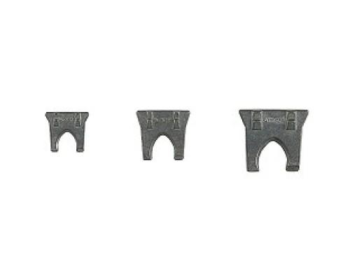 Набор STAYER (20990-H3) Клинья металлические плоские 3 шт, 2, 3, 4мм