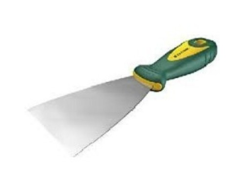 Шпательная лопатка KRAFTOOL с 2-компонент ручк, профилиров нержав полотно, 125мм 10035-125