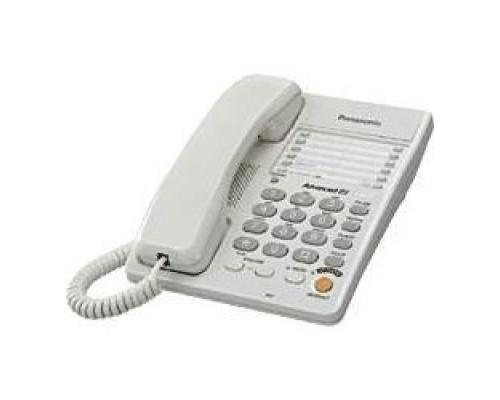 Panasonic KX-TS2363RUW (белый) однокноп.набор 20 ном., спикерфон, автодозвон