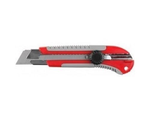 ЗУБР Нож ЭКСПЕРТ (09175) с выдвижными сегментированными лезвиями, 25мм