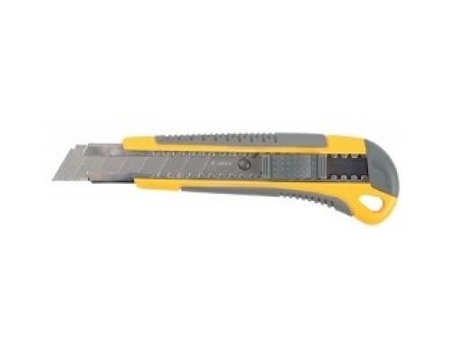 STAYER Нож MASTER с выдвижным сегмент. лезвием, пластмассовый, 18мм 0916