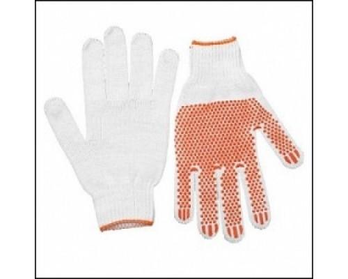 Перчатки STAYER МАСТЕР трикотажные, 7 класс, х/б, защитой скольжения, L-XL, 10пар 11397-H10