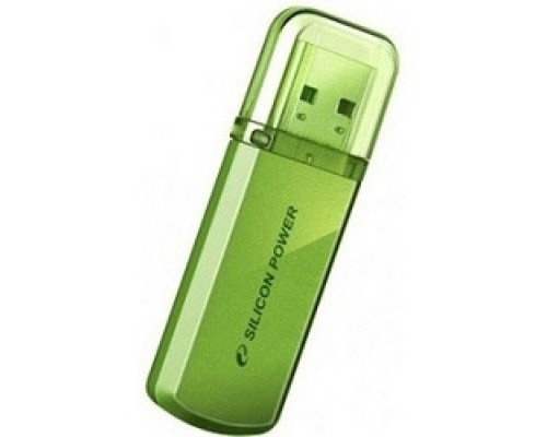 Носитель информации Silicon Power USB Drive 32Gb Helios 101 SP032GBUF2101V1N USB2.0, Green