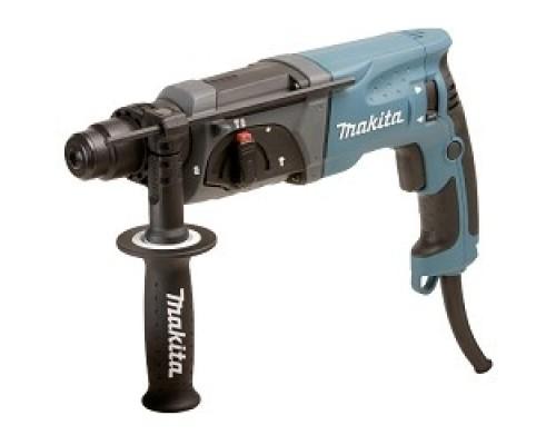 Makita HR2470 SDS+ HR2470 780Вт,3реж,2.7Дж,0-4500ум,2.6кг,чем,зашита уг щеток от пыли