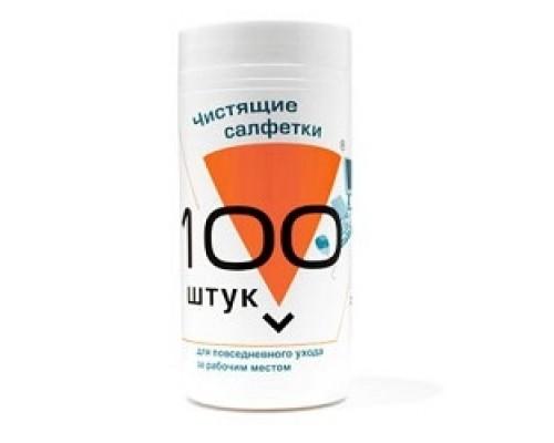 Konoos KBU-100 Салфетки для комп. техники в банке, 100 шт.