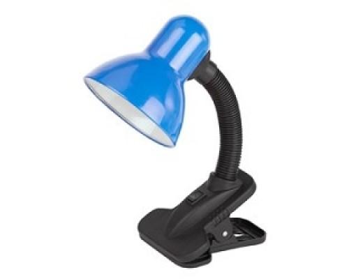 ЭРА C0041426 Настольный светильник N-102-E27-40W-BU синий на прищепке