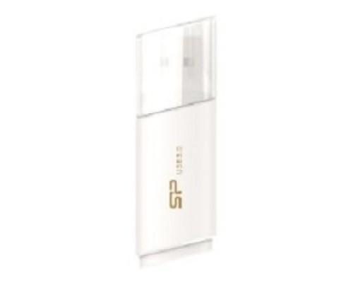 Silicon Power USB Drive 16Gb Blaze B06 SP016GBUF3B06V1W USB3.0, White