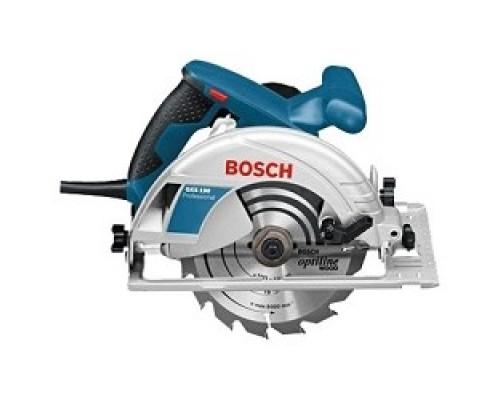 Пила Bosch GKS 190 дисковая 0601623000 1400 Вт, 5500 об/мин, 190х30мм, 66мм, 4,2кг, коробка