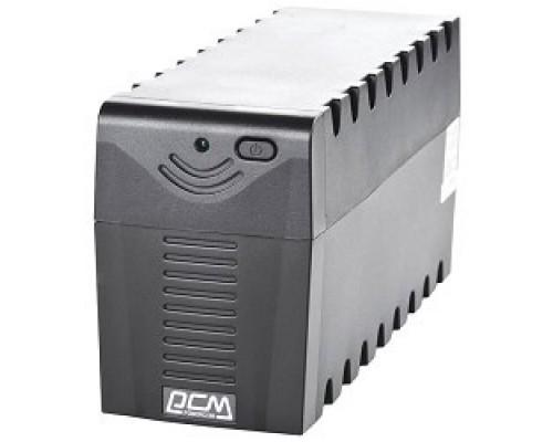 ИБП UPS Powercom RPT-1000AP 1000 ВА/ 600 Вт, AVR, USB, RJ11/RJ45, 3 розетки IEC320 C13 с резервным питанием