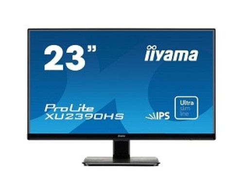IIYAMA 23 XU2390HS-B1 черный AH-IPS LED 1920x1080 5ms 16:9 1000:1 250cd 178°/178° D-Sub DVI HDMI