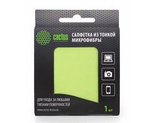 Чистящие средства  CACTUS Салфетки CS-MF01 Микрофибра для деликатного ухода за любыми типами поверхностей, 18x18 см