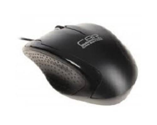 CBR CM 307 черный USB, 1200 dpi, провод 1,3м