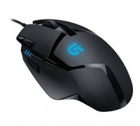 910-004067 Logitech Gaming Mouse G402 Hyperion Fury USB Optical & Fusion Engine, 240 - 4,000 dpi (G-package)
