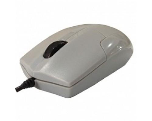 CBR CM-302 Grey USB, Мышь 1200dpi, бесшумное нажатие, провод 1.25 м.