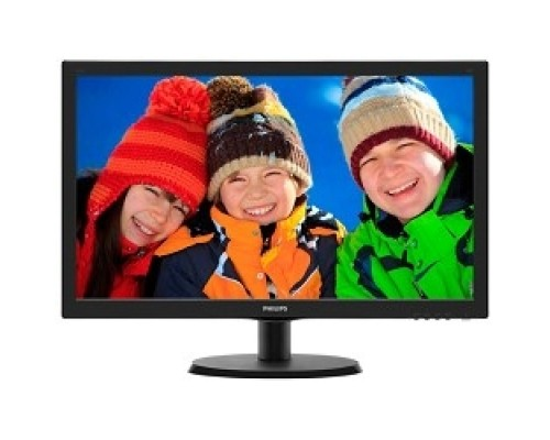 LCD PHILIPS 21.5 223V5LHSB (00/01) черный TN LED, 1920x1080, 5 ms, 170°/160°, 250 cd/m, 10M:1, D-Sub HDMI