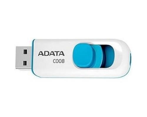 Носитель информации A-DATA Flash Drive 16Gb С008 AC008-16G-RWE USB2.0, белый