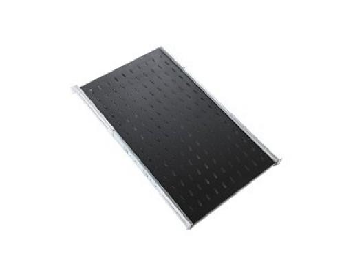ЦМО Полка перфорированная, глубина 450 мм, цвет черный (СВ-45-9005)