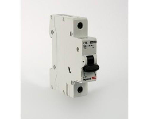 Legrand 404030 Автоматический выключатель TX3 6000 - 6 кА - тип характеристики C - 1П - 230/400 В~ - 25 А