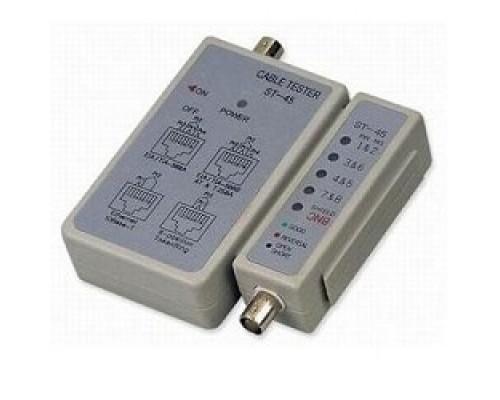 Telecom 6926123456002 LAN тестер ST-45 (LY-CT001) для BNC, RJ-45
