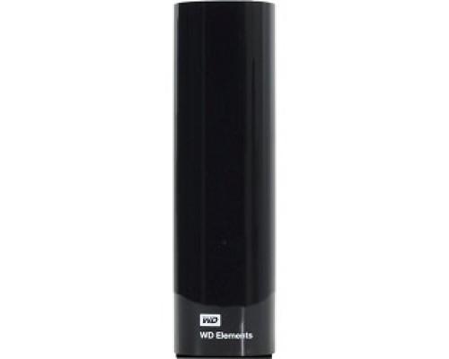 WD Portable HDD 4Tb Elements Desktop WDBWLG0040HBK-EESN USB3.0, 3.5, black