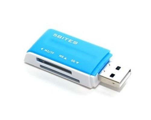 Устр-ва ч/з карт памяти 5bites RE2-102BL