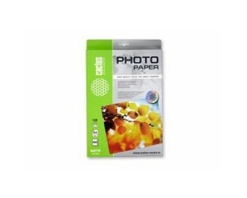 Cactus CS-MA4120100 Фотобумага Cactus CS-MA4120100 A4/120г/м2/100л. матовая для струйной печати