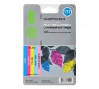 CACTUS C8771/2/3/4/5 Картридж струйный CS-C8771/2/3/4/5 многоцветный для №177 HP PhotoSmart 3213/3313/8253 (11,4ml) Комплект цветных картриджей