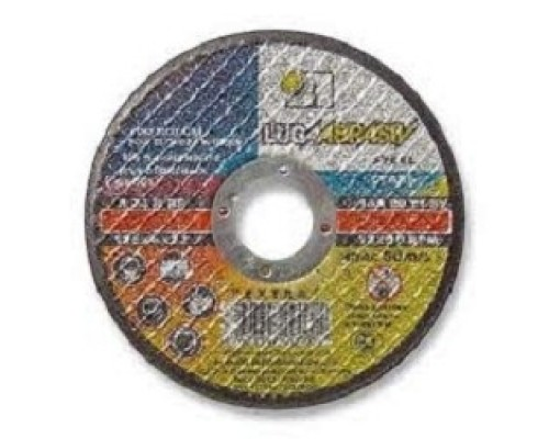 ЛУГА Круг шлифовальный абразивный Луга по металлу, 125х6х22,23мм 3650-125-06