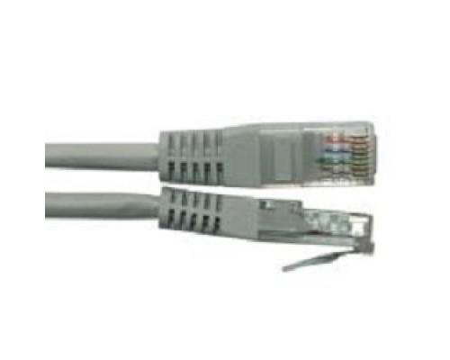 NEOMAX (NM13601-005) Шнур коммут. UTP 0.5м., гибкий, cat. 6, серый, многожильный