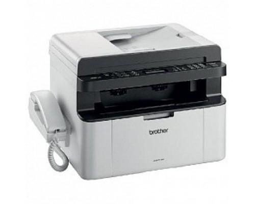 Brother MFC-1815R МФУ, A4, 16Мб, 20стр/мин, GDI, факс, трубка, ADF10, USB, лоток 150л, старт.картридж 1000стр (MFC1815R1)