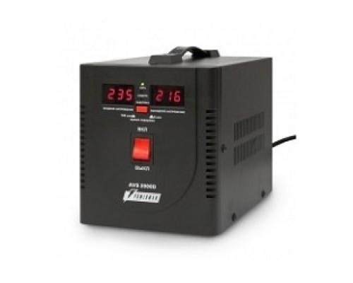 Powerman Стабилизаторы напряжения AVS 2000D Black (220В±8% 2000ВА,15А,КПД 98%,циф. индикация вх./вых.)