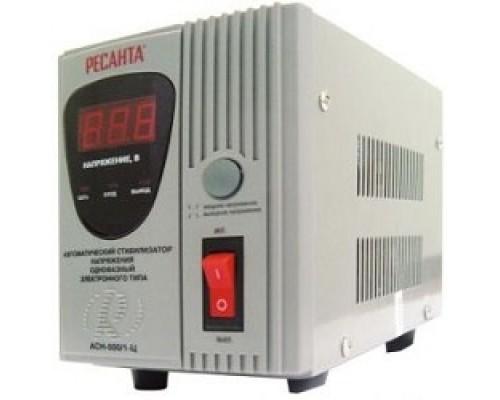 Ресанта АСН- 500/1-Ц 63/6/1 Стабилизатор 220В±8%, Габариты 212х110х134, Вес 3 кг
